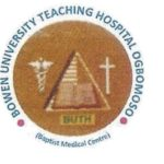 School of Nursing BUTH Ogbomoso Application Form 2018/2019 Out