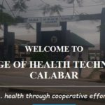 College of Health Technology Calabar Application Form 2018/19 Out