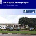 Irrua Specialist Hospital Irrua Edo State Post-Basic Nursing Application Form 2018/19 Out