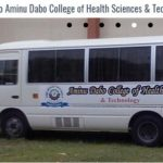 Aminu Dabo College of Health Technology – ADCOHST Freshers School Fees 2020/2021 Academic SessionOut