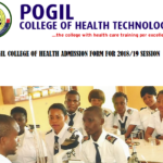 Pogil College of Health Technology Admission Form 2018/19 Academic Session Out