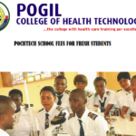 Pogil College of Health Technology School Fees For Fresh Students 2020/2021 Academic Session