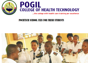 Pogil College of Health Technology School Fees For Fresh Students 2020/2021 Academic Session 3