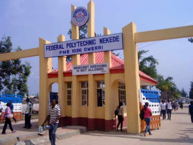 Federal Poly Nekede Cut Off Mark for All Courses 2021/2022 Academic Session 1